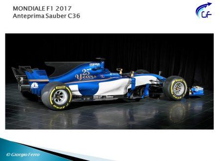 Sauber C36: evoluzione svizzera